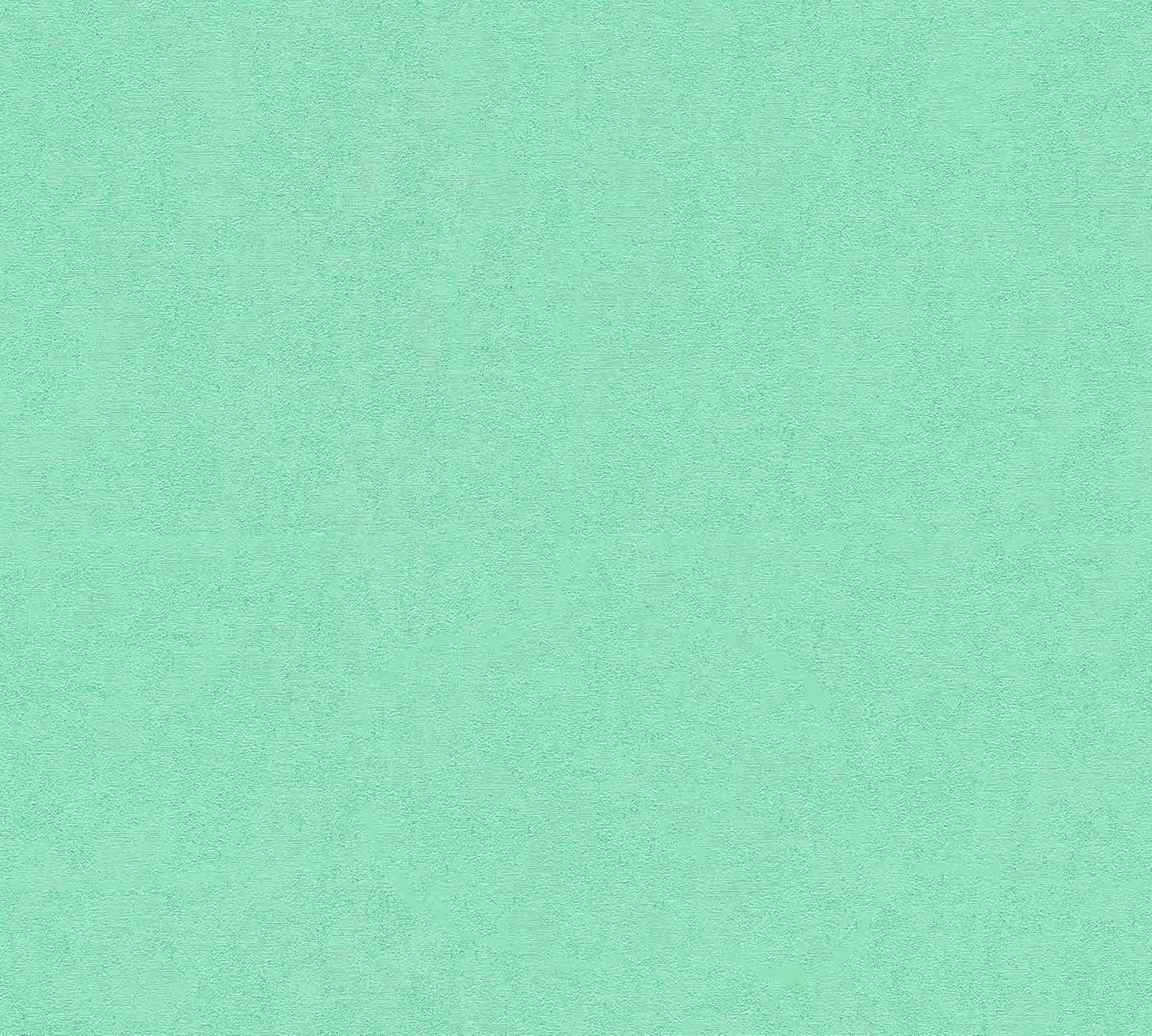 Wallpaper Versace Home Plain Textured mint green Metallic 370501 001