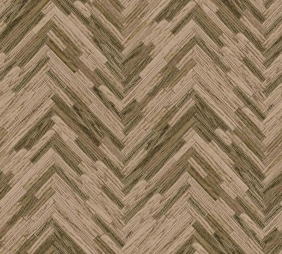 Wallpaper Versace Home Herringbone Ornament brown Gloss 370512 online kaufen