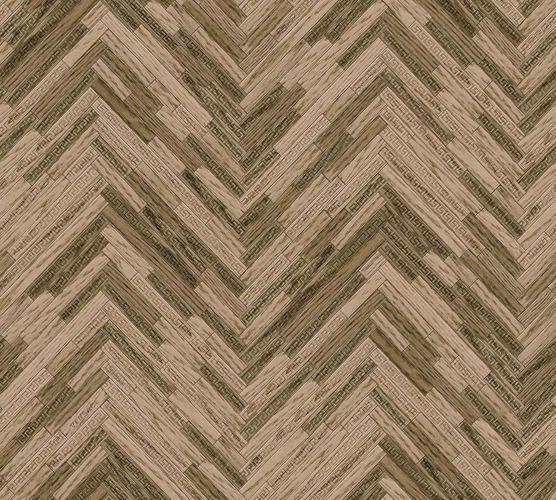 Wallpaper Versace Home Herringbone brown Gloss 370512 online kaufen