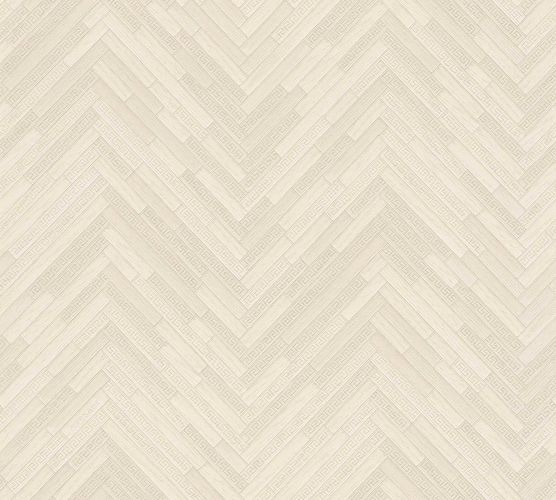 Wallpaper Versace Home Herringbone Ornament cream 370515