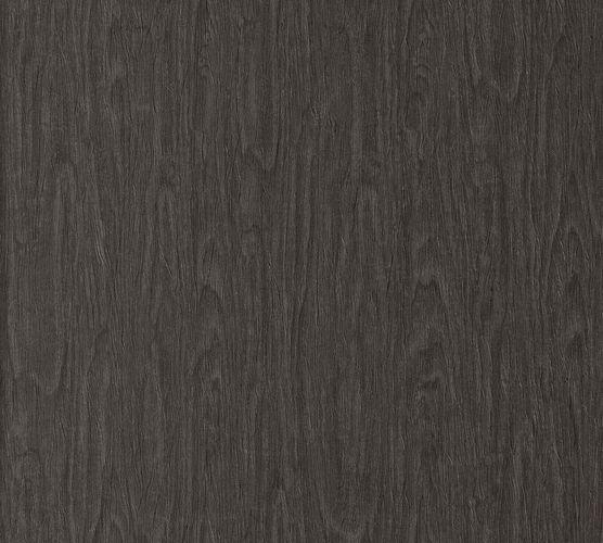 Tapete Versace Home Holzmaserung schwarz Glanz 370524 online kaufen