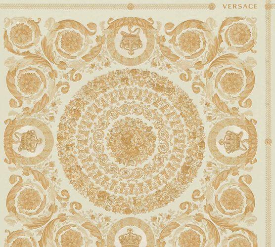 Tapete Versace Home Kacheln creme gold Metallic 370552 online kaufen