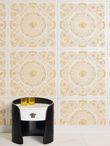 Wallpaper Versace Home Diamonds cream gold Metallic 370552 online kaufen