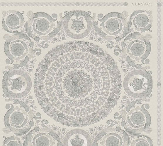 Wallpaper Versace Home Diamonds grey Metallic 370555 online kaufen