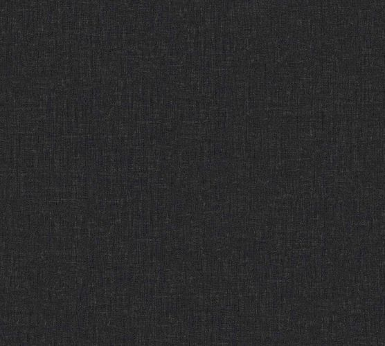 Wallpaper Versace Home Plain Textile black Gloss 962339