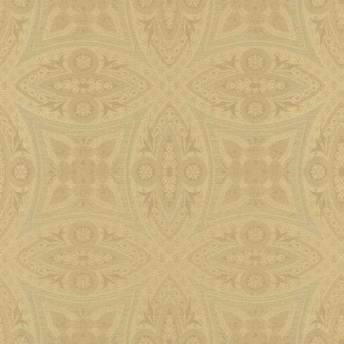 Non-Woven Wallpaper Ornaments gold Gloss Rasch 529722