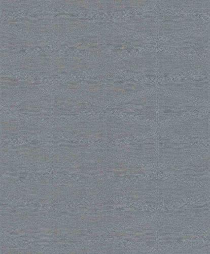 Non-Woven Wallpaper Triangles grey blue Gloss 529869