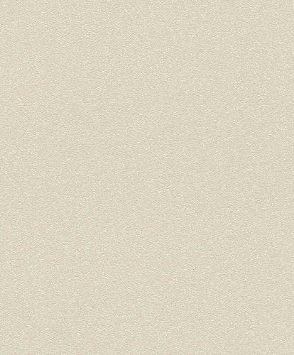 Non-Woven Wallpaper Plain beige Gloss Rasch Berlin 530223