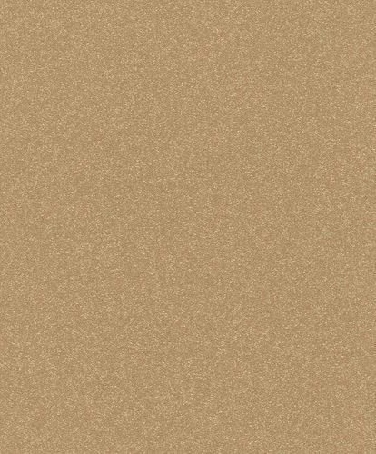 Non-Woven Wallpaper Plain gold Gloss Rasch Berlin 530247