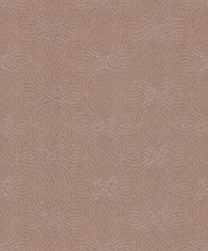 Non-Woven Wallpaper Circles rosé beige Gloss Rasch 530551
