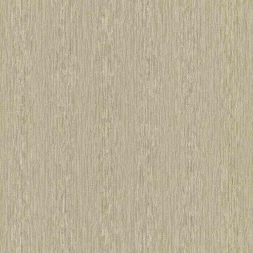 Non-Woven Wallpaper Plain Lines green beige Gloss 533323