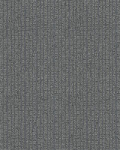 Non-Woven Wallpaper Stripes taupe grey Glitter 6707-40