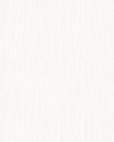 Non-Woven Wallpaper Plain Lines white Gloss 6733-10