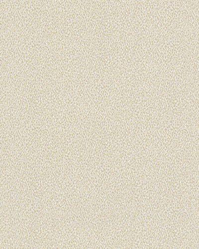 Vliestapete Tupf-Muster weiß braun gelb Novamur 6739-20 online kaufen