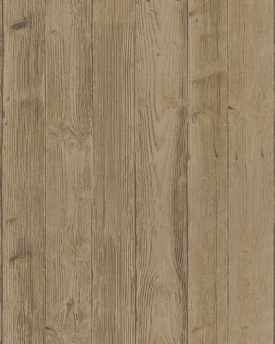 Non-Woven Wallpaper Wood Look 3D grey beige 6715-40 online kaufen