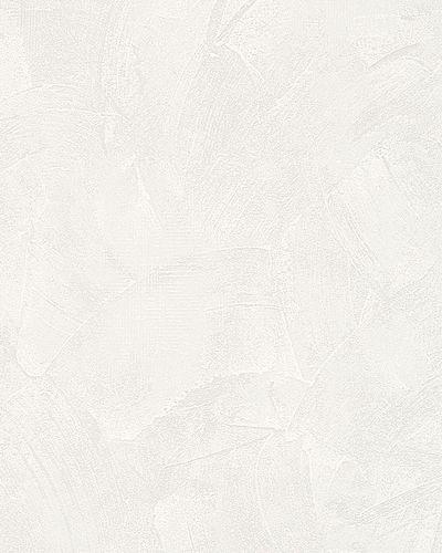 Non-Woven Wallpaper Trowel Plaster Look white 6718-10 online kaufen