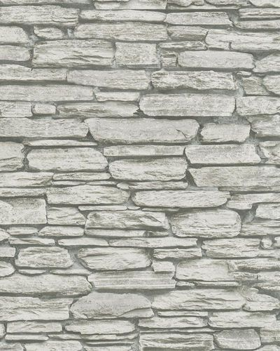 Non-woven Wallpaper Stone Wall grey 81901 online kaufen