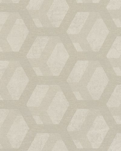 Non-Woven Wallpaper 3D Combs brown silver Metallic 6725-10 online kaufen