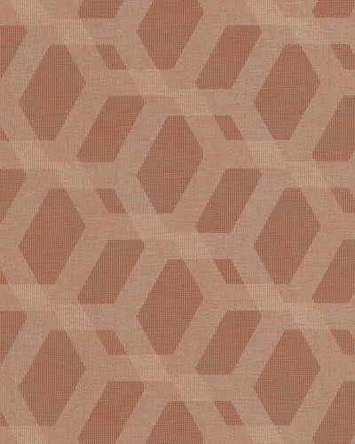 Non-Woven Wallpaper 3D Comb red gold Metallic 6725-30 online kaufen