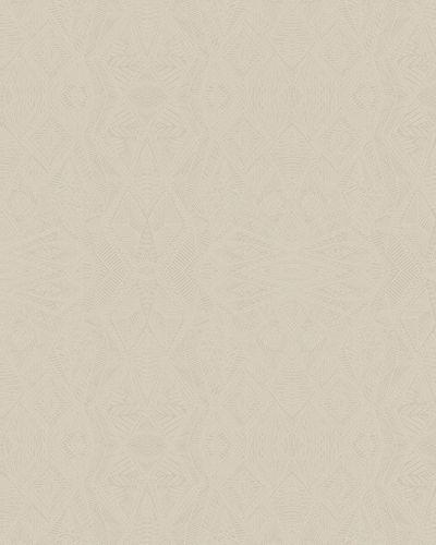Vliestapete Grafisches Muster blasscreme Glanz 6728-20