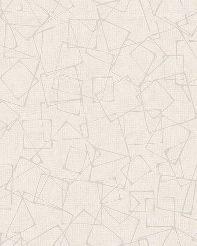 Non-Woven Wallpaper Rectangles beige Gloss 6745-10 online kaufen