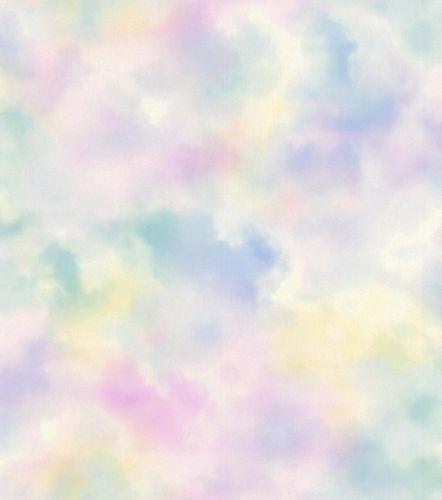 Kid's Wallpaper Cloudy Sky pastel Glitter Rasch 818017 online kaufen