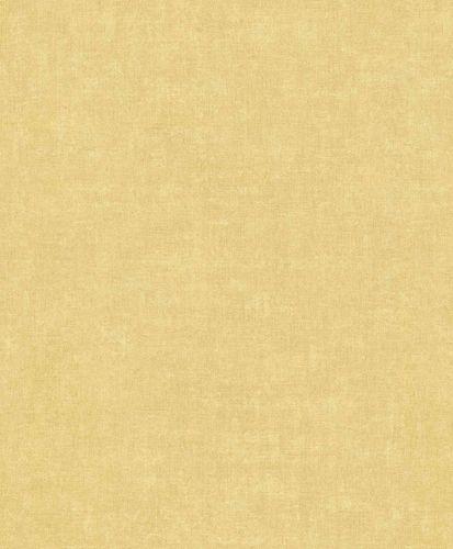Vinyl Wallpaper Textile Plain yellow GranDeco IW1006