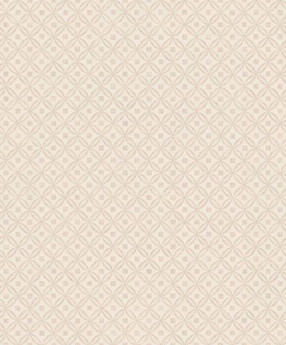 Vinyl Wallpaper Retro Ellipse silver beige Metallic IW3104 online kaufen