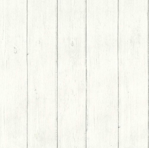 Vinyl Wallpaper Wooden Floorboards grey white IW3202 online kaufen