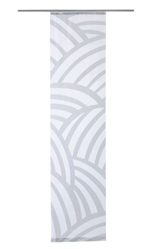 Panel Curtain transparent stripes grey 5406-24 online kaufen