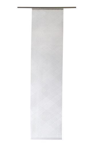 Flächenvorhang transparent Zick Zack weiß 5422-08 online kaufen