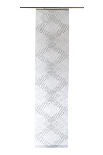 Panel Curtain transparent zig-zag silver 5422-15 online kaufen