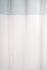 Ösenschal halbtransparent 2,45 x 1,40 Zweifarbig petrol 5880-39 3