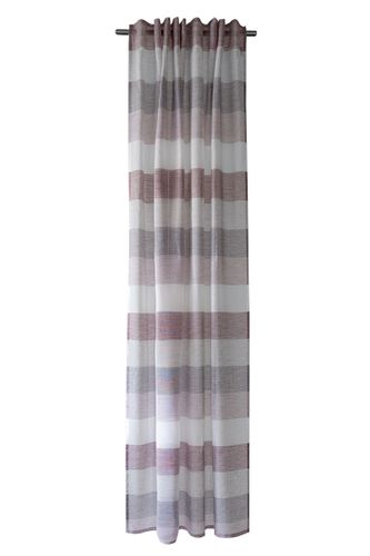 Loop Curtain semi-transparent stripes berry 5099-11 online kaufen