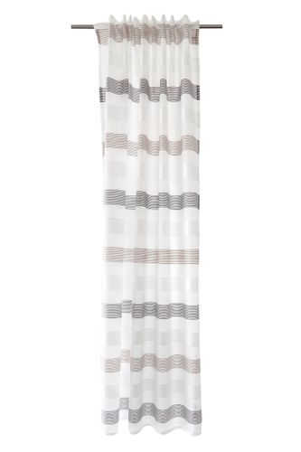 Loop Curtain semi-transparent stripes grey 5402-11 online kaufen