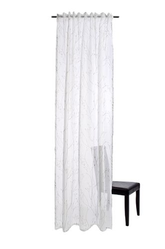 Loop Curtain Rina transparent floral branch rosé 5097-06 online kaufen