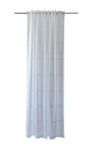 Loop Curtain semi-transparent stripes white 5415-08 online kaufen