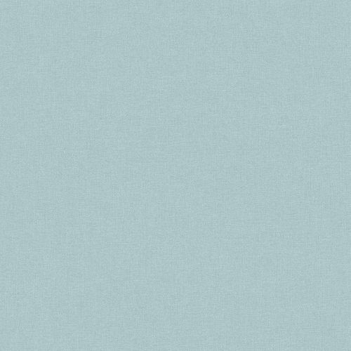 Vinyl Wallpaper Plain Textile Design light blue PP1106