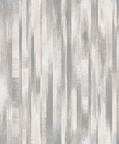 Vinyl Wallpaper Wood Vintage grey silver Metallic PP3202 online kaufen