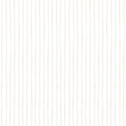 Kids Vinyl Wallpaper Stripes white grey beige LO3001 online kaufen