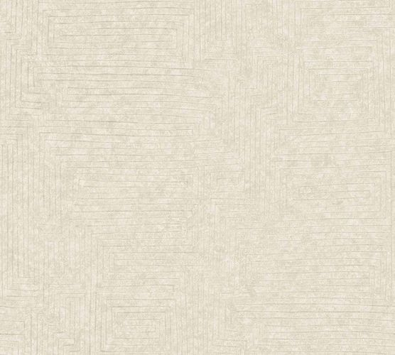 Vinyl Wallpaper Modern Graphic cream beige 37171-2 online kaufen