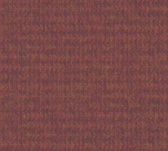 Vinyl Wallpaper Ethno Mosaic red gold 37173-2
