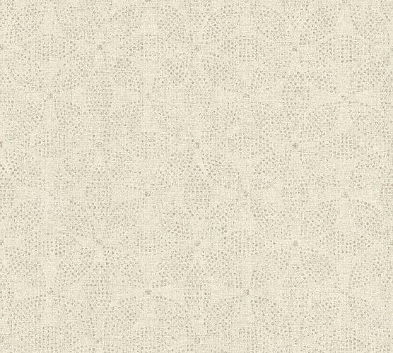 Vinyltapete Ethno Blumen cremegrau grau 37176-6