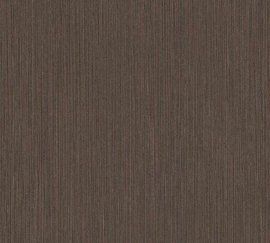Vinyl Wallpaper Ethno Stripes dark brown black 37179-3 online kaufen
