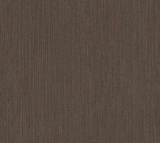 Vinyltapete Ethno Streifen dunkelbraun schwarz 37179-3