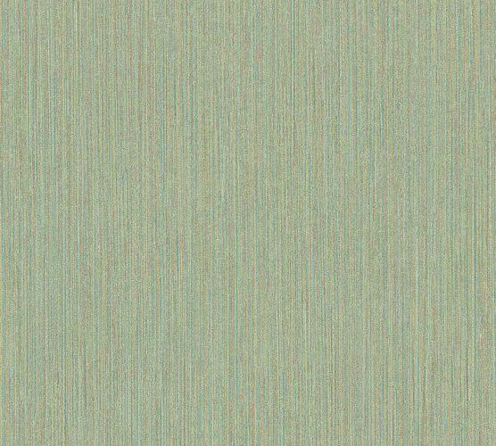 Vinyl Wallpaper Ethno Stripes green brown 37179-4