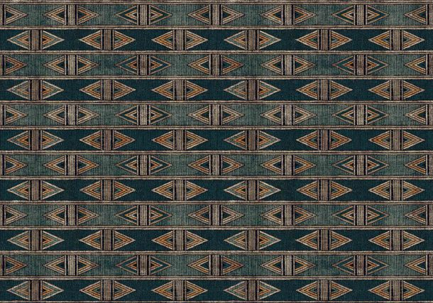 Digital Print Photo Wallpaper Ethno Aztecs green DD116590 online kaufen