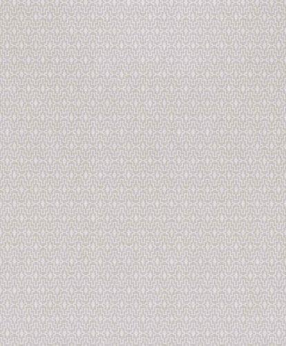 Vinyltapete Muster Orientalisch weiß grau Myriad MY2302
