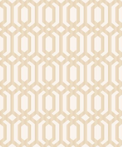 Vinyl Wallpaper Hexagons Asian gold metallic MY3302 online kaufen