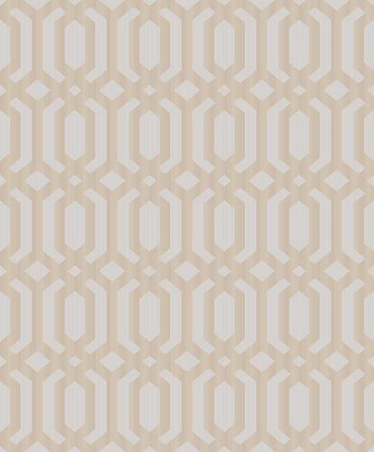 Vinyl Wallpaper Hexagons Asian bronze metallic MY3304 online kaufen
